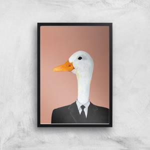 Ducky In Suit Giclee Art Print