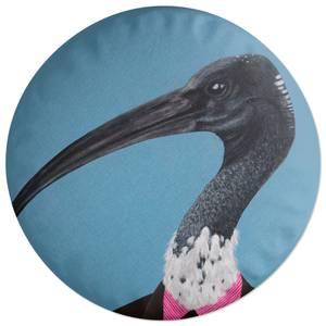 Ibis In Suit Round Cushion