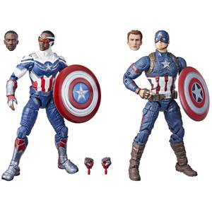 Hasbro Marvel Legends Series Captain America 2-Pack Action Figure