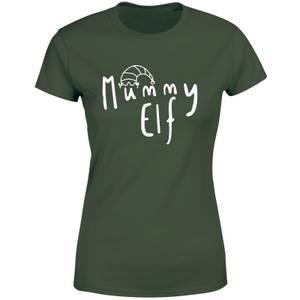 Mummy Christmas Elf Women's T-Shirt - Green
