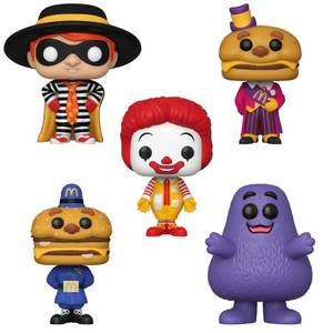 McDonalds Funko Pop! Vinyl Bundle
