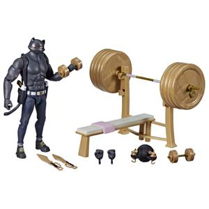 Hasbro Fortnite Victory Royale Series Meowscles (Shadow) Deluxe Pack 6 Inch Action Figure