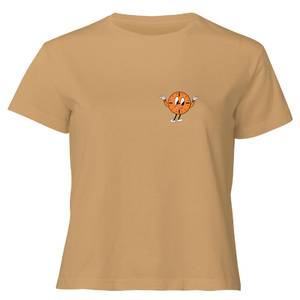 Marvel Loki Miss Minutes T-Shirt Women's Cropped T-Shirt - Tan