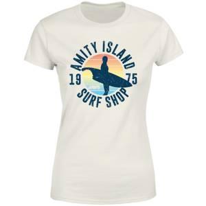 Jaws Amity Surf Shop Women's T-Shirt - Cream