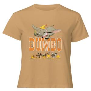 Dumbo The One The Only Women's Cropped T-Shirt - Tan