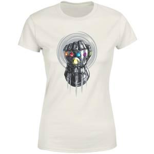 Marvel Thanos Infinite Power Fist Women's T-Shirt - Cream