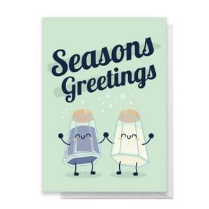 Seasons Greetings Greetings Card