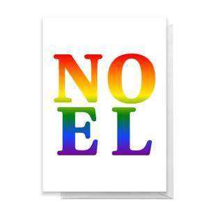 Noel Lgbtq Pride Greetings Card