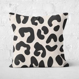 Big- Leopard Square Cushion