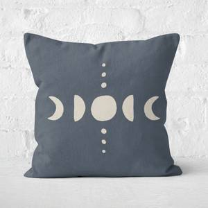 Moon Phases Square Cushion