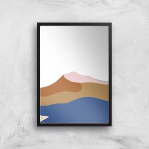 Abstract Dunes Giclee Art Print