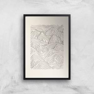 Organic Dune Giclee Art Print