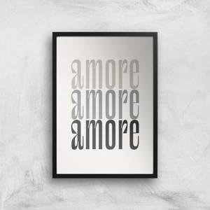 Amore Amore Amore Giclee Art Print