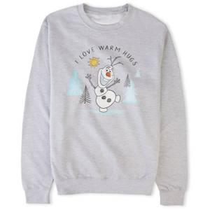 Disney Frozen Warm Hugs Sweatshirt - Grey