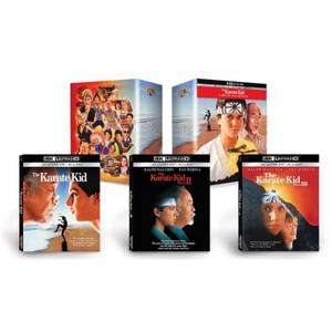 The Karate Kid 3-Movie Collection - 4K Ultra HD (Includes Blu-ray)