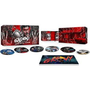 The Evil Dead: Groovy Collection - 4K Ultra HD (Includes Blu-ray)