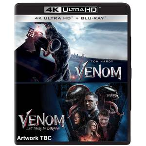 Venom 1&2: (2018) & Let There Be Carnage - 4K Ultra HD (Includes Blu-ray)