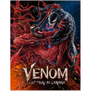 Venom: Let There Be Carnage - 4K Ultra HD Zavvi Exclusive Red Carpet Edition Steelbook (Includes Blu-ray)
