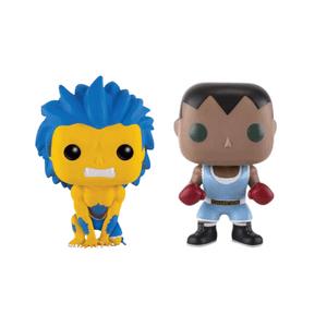 Street Fighter Balrog and Blanka Yellow EXC Funko Pop! Bundle