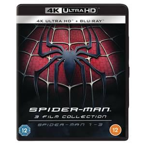 Spider-Man 1-3 - 4K Ultra HD (Includes Blu-ray)