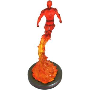 Diamond Select Marvel Premier Collection Statue - Human Torch