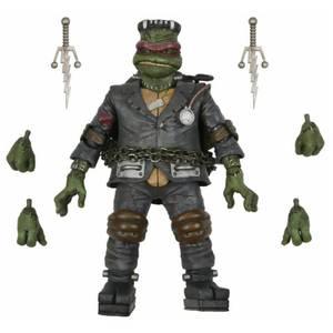 NECA Teenage Mutant Ninja Turtles x Universal Monsters Raphael as Frankenstein's Monsters Ultimate 7 Inch Action Figure