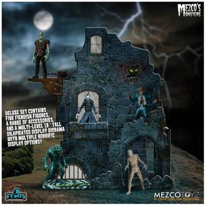 Mezco's Monsters Tower of Fear 5 Points Deluxe Boxed Set