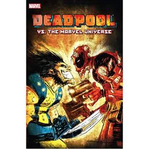 Marvel Deadpool Vs. The Marvel Universe Stripboek Paperback