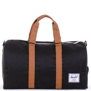 Herschel Supply Co. Men's Novel Duffel Bag - Black/Tan
