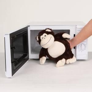 Cozy Heatable Plush Monkey