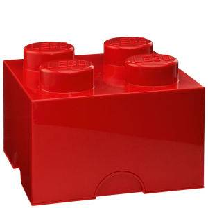 LEGO Storage Brick 4 - Red