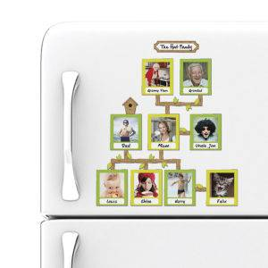 Family Tree Magnetic Photo Frames