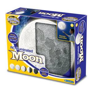Remote Control Illuminated Moon