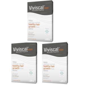 Viviscal Man Hair Growth Supplement (3 x 60) (3 mois d'approvisionnement)