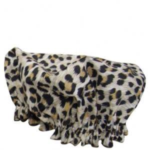 Hydrea London Eco Friendly Shower Cap – Leopard
