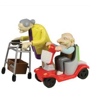 Rückzieh Renn Oma und Opa