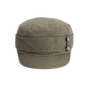 Boardman Bros Women's Button Detail Porter's Cap – Khaki