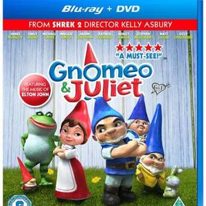Gnomeo and Juliet (Includes Blu-Ray and DVD Copy)