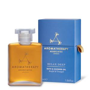 Aromatherapy Associates Relax Deep Relax Bath & Shower Oil (55ml)