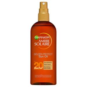 Ambre Solaire Golden Protect Shea Butter Tan Enhancing Sun Oil SPF20 150ml