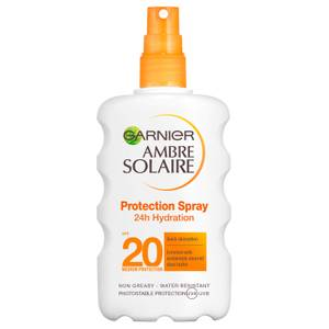 Ambre Solaire Ultra-Hydrating Shea Butter Sun Cream Spray SPF20 200ml