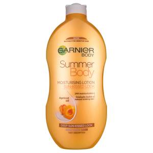Garnier Summer Body Hydrating Gradual Tan Moisturiser Dark 400ml