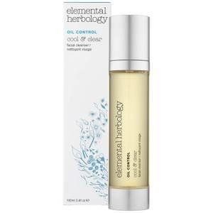 Limpiador facial Cool & Clear de Elemental Herbology 100 ml