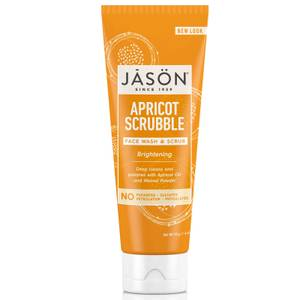Limpiador y exfoliante facial de albaricoque JASON (128ml)
