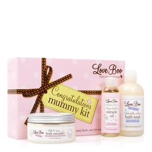 Love Boo Congratulations Mummy Kit zestaw produktów dla świeżo upieczonych mam (3 produkty)