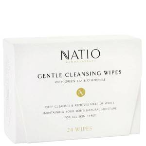 Natio Gentle Cleansing Wipes (24 μαντηλάκια)