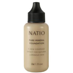 Natio Pure Mineral Foundation - Light (50ml)
