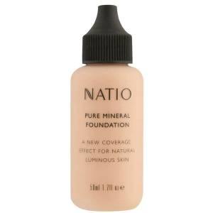 Минеральная основа под макияж Natio Pure Mineral Foundation - Light Medium (50мл)
