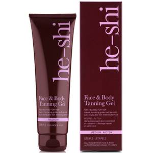 He-Shi Face and Body Tanning Gel 150ml