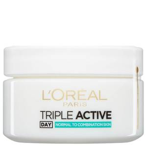 L'Oréal Paris Dermo Expertise Triple Active Multi-Protection Day Moisturiser - Normal / Combination 50ml